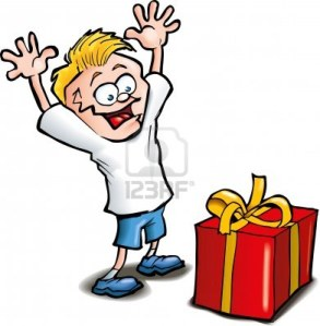 9701511-cartoon-of-excited-kid-receiving-a-gift-isolated-on-white